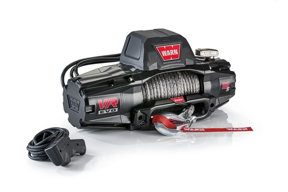 WARN 103255 VR EVO Series Winch 12,000lb with Synthetic Rope