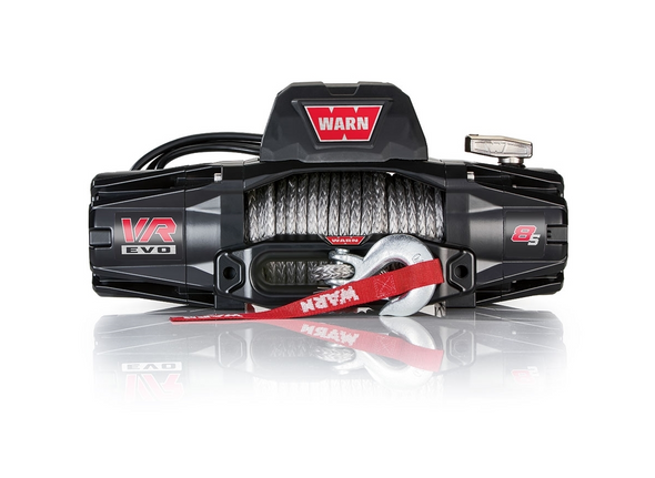 WARN 103251 VR EVO Series Winch 8,000lb with Synthetic Rope