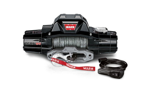 WARN 95950 ZEON 12-S Winch with Synthetic Rope