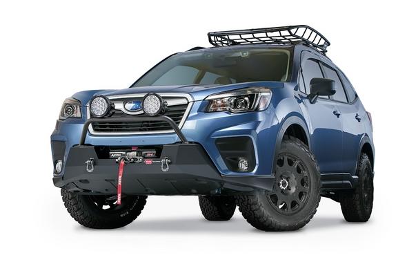 18+ Subaru Crosstrek or Forester 19+ - Grille Guard Tube for Semi-Hidden Kit - 106236
