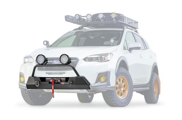 Warn 18+ Subaru Crosstrek - Semi-Hidden Mounting Kit - 106221