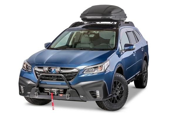 Warn 2020 Subaru Outback - Semi-Hidden Mounting Kit - 106396