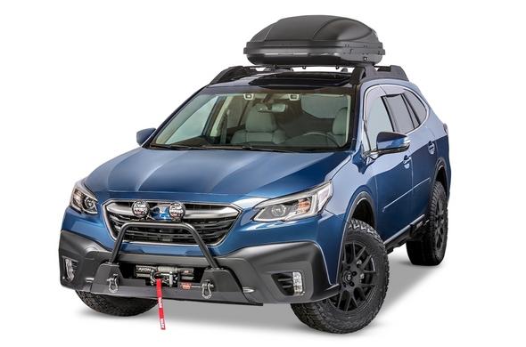 Warn 2020 Subaru Outback - Grille Guard for Semi-Hidden Kit - 106398