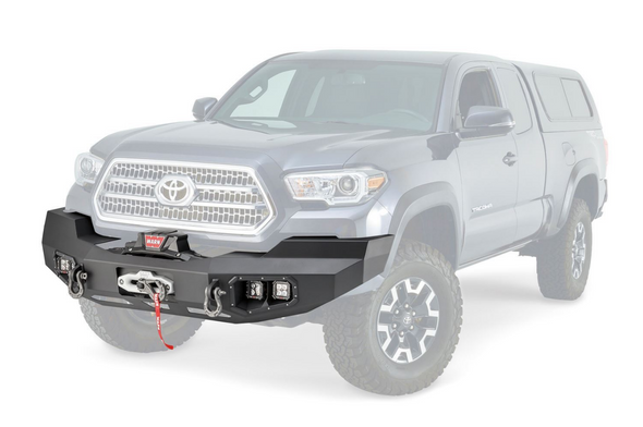 Warn Ascent Front Bumper for Toyota Tacoma - 100927