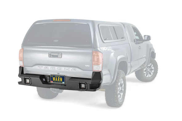 Warn Ascent Rear Bumper for Toyota Tacoma - 98054