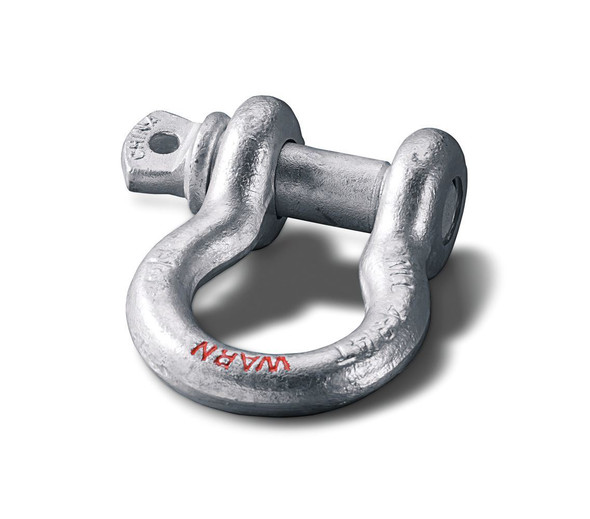 """Warn Clevis D-Shackle 3/4"""" with 7/8"""" Pin - 18,000 lb -  88999"""