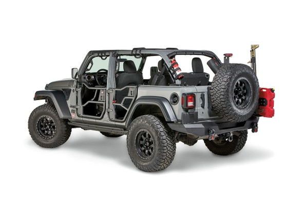 Warn FRONT TUBE DOOR SET FOR JEEP JL - 103101