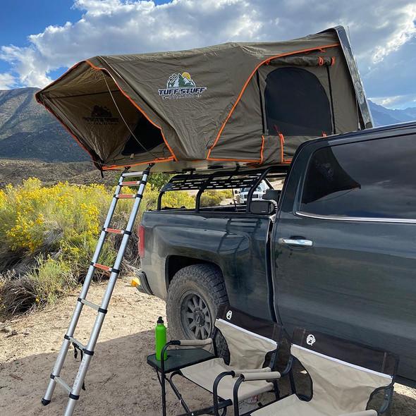 Tuff Stuff® ALPHA II™ Hard Top Side Open Tent, Black, 2 Person - TS-RTT-CS2-BK