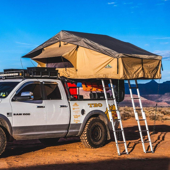 "Tuff Stuff® ""Elite"" Overland Roof Top Tent & Annex Room, 5 Person - TS-RTT-ANX-ELT"