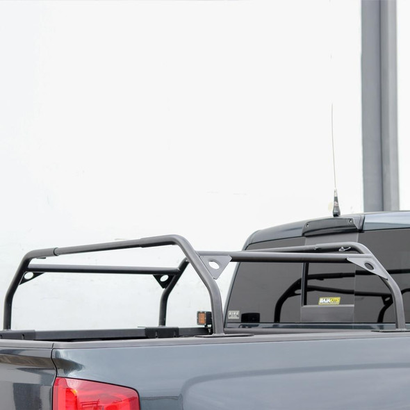 "Tuff Stuff® Overland Roof Top Tent Truck Bed Rack, Adjustable, Powder Coated 40"" - TS-UBR-PDR-40"