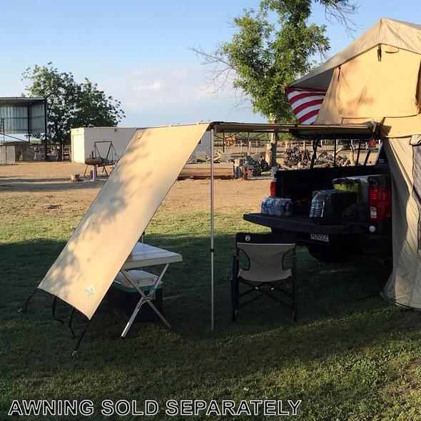Tuff Stuff® Overland Awning Shade Wall, 4.5 x 6 Feet - TS-AWN-SW-4.5