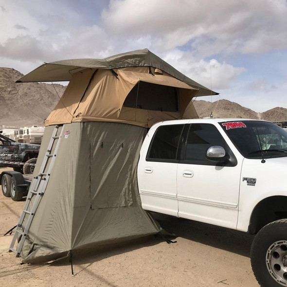 Tuff Stuff® Overland Roof Top Tent Annex Room, No Floor, Delta & TRAILHEAD™
