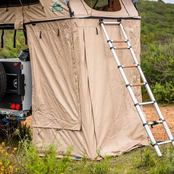 Tuff Stuff® Overland Roof Top Tent Annex Room, w/ Floor, Delta & TRAILHEAD™ - TS-ANX-DLT-TRL