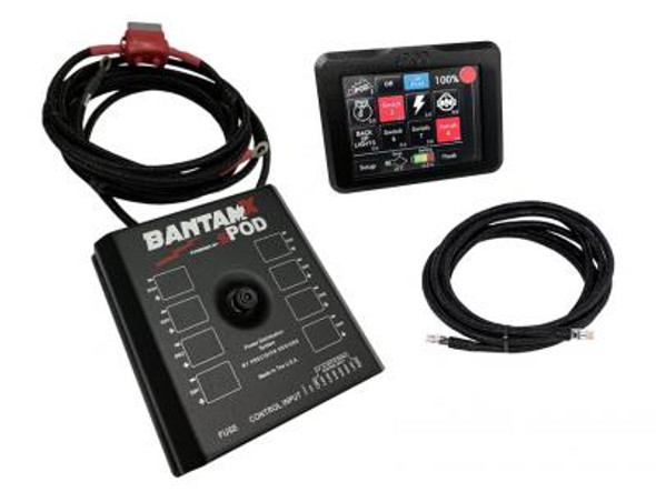 "sPOD BantamX Touchscreen for Uni with 36"" or 84"" battery cables"