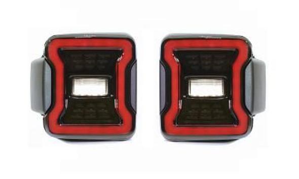 Quake LED Jeep Wrangler JL Blackout LED Replacement Tail Lights