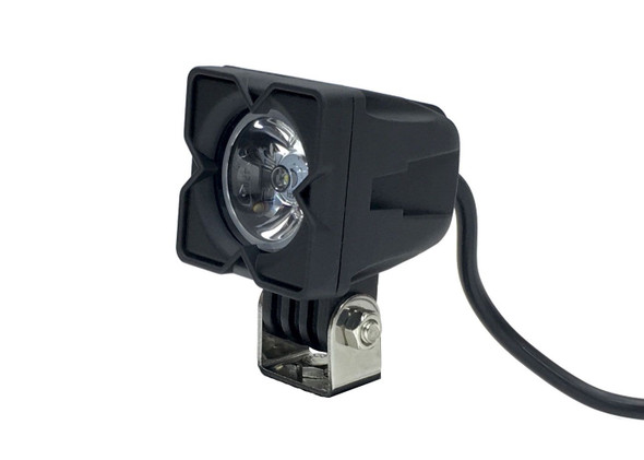 Quake LED 2 Inch Work Light 10 Watt Square Flood