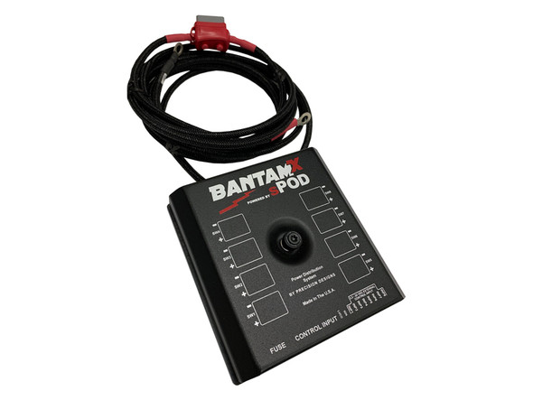"sPOD BantamX Add-On For Uni With 36"" and 84"" Battery Cables"
