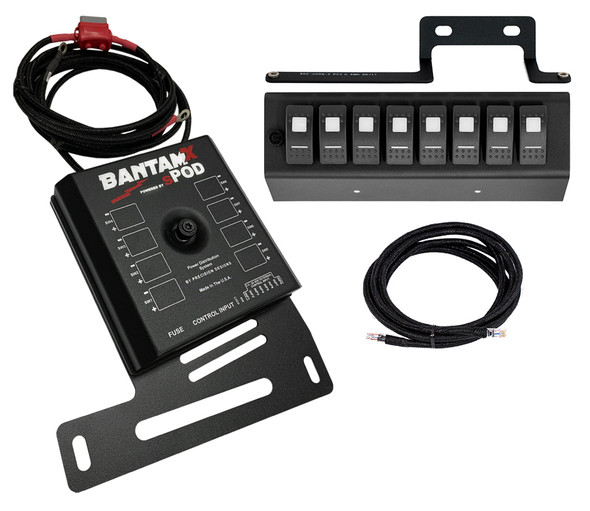 sPOD BantamX W/ LED Switch Panel For JK 2009-2018