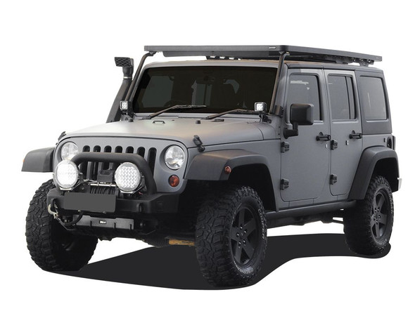 JEEP WRANGLER JK 4 DOOR (2007-2018) EXTREME ROOF RACK KIT - BY FRONT RUNNER