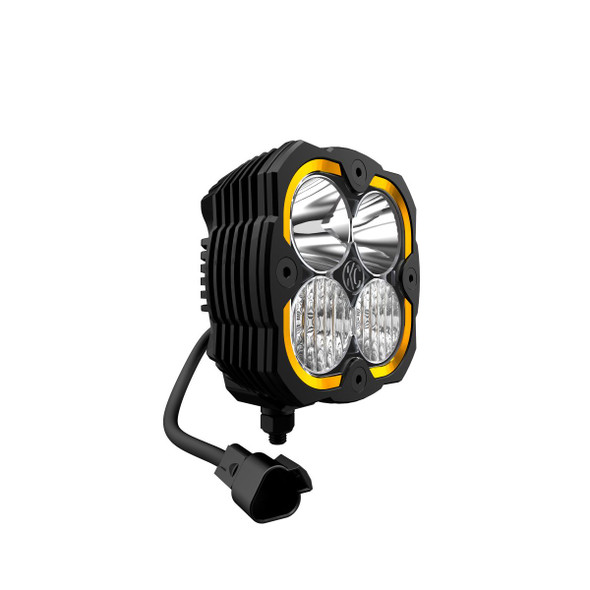 KC HiLiTES FLEX ERA® 4 - 2-LIGHT SYSTEM - 80W COMBO BEAM