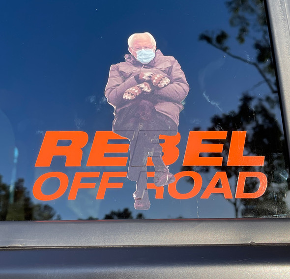 Bernie Mittens W/Rebel Off Road Decal