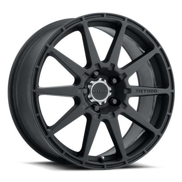 METHOD RACE WHEELS - RS 501 RALLY MATTE BLACK