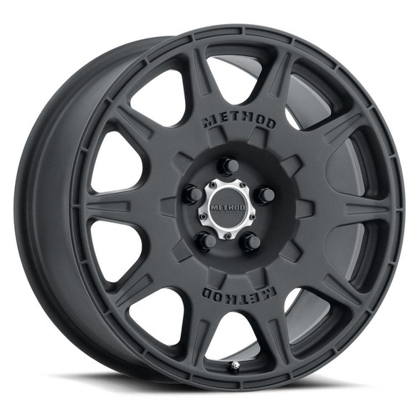 METHOD RACE WHEELS - RS 502 RALLY MATTE BLACK