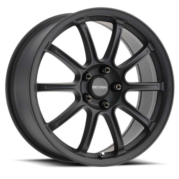 METHOD RACE WHEELS - RS 503 RALLY MATTE BLACK