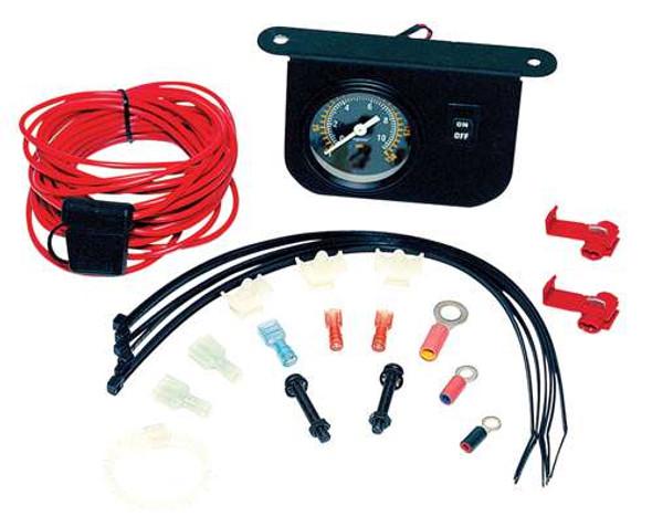 VIAIR Illuminated Dash Panel Gauge Kit (20 Amp)