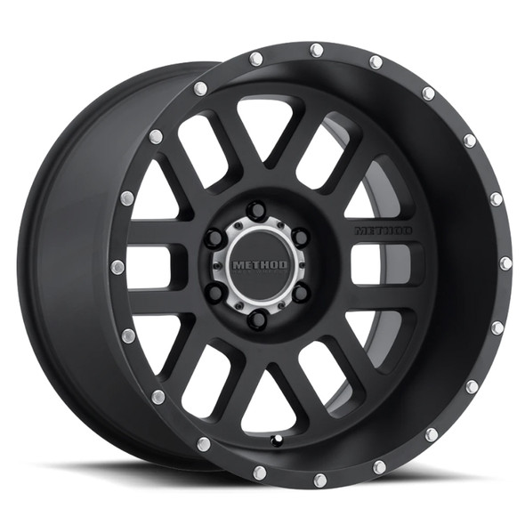 METHOD RACE WHEELS - 606 MATTE BLACK