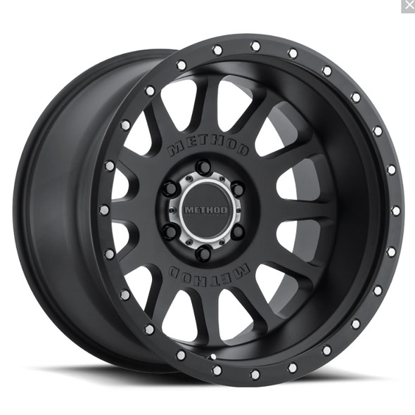 METHOD RACE WHEELS - 605 MATTE BLACK