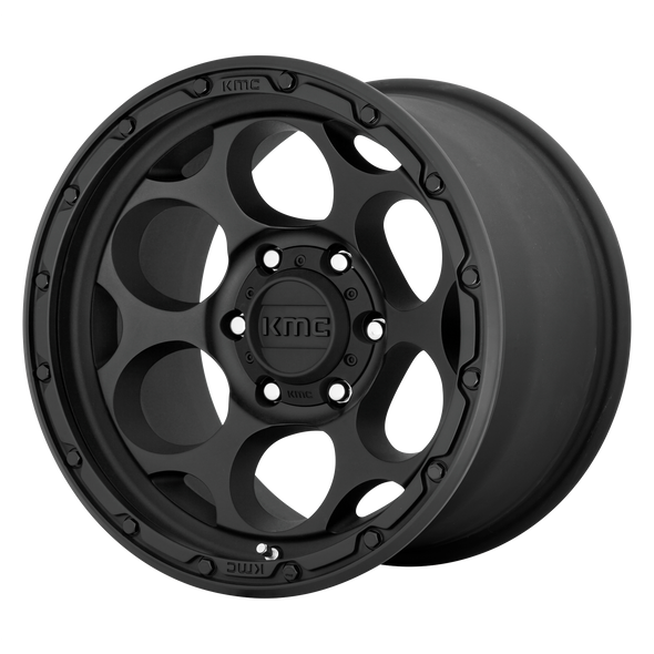 KMC WHEELS KM541 DIRTY HARRY TEXTURED BLACK