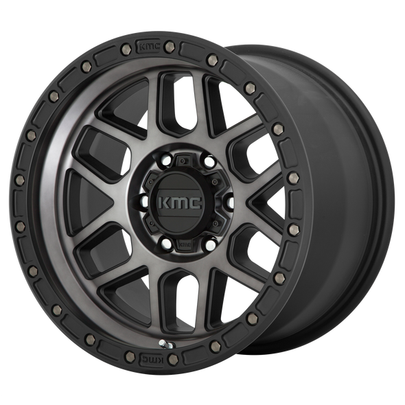 KMC WHEELS KM544 MESA SATIN BLACK/GRAY TINT