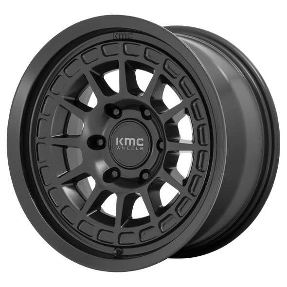 KMC WHEELS KM719 CANYON SATIN BLACK