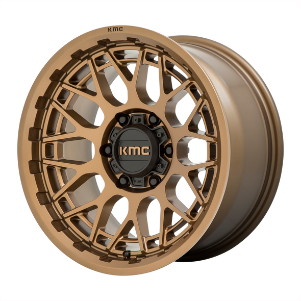 KMC WHEELS KM722 TECHNIC MATTE BRONZE