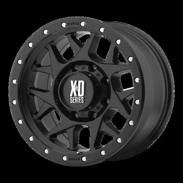 Xd Wheels Xd127 Bully Satin Black