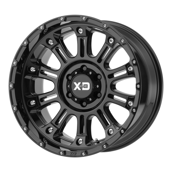 Xd Wheels Xd829 Hoss Ii Gloss Black