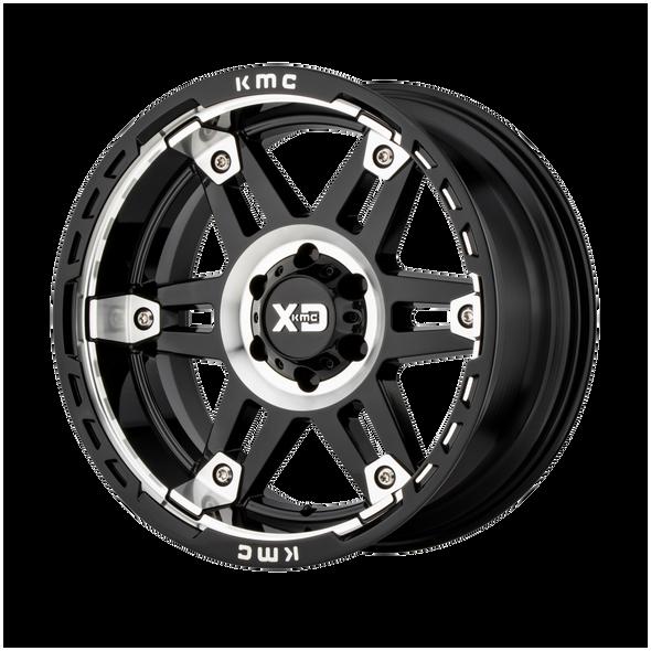 Xd Wheels Xd840 Spy Ii Gloss Black Machined