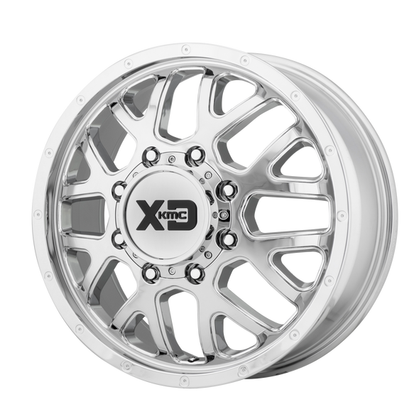 Xd Wheels Xd843 Grenade Dually Chrome - Front