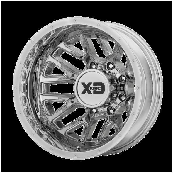 Xd Wheels Xd843 Grenade Dually Chrome - Rear