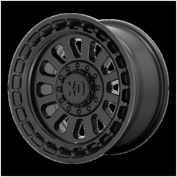 Xd Wheels Xd856 Omega Satin Black
