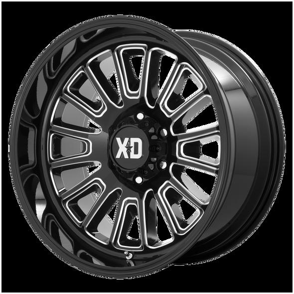 Xd Wheels Xd864 Rover Gloss Black Milled