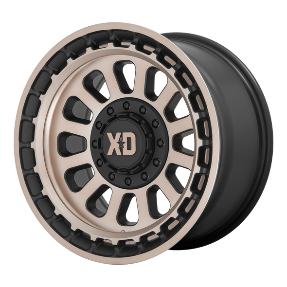 Xd Wheels Xd856 Omega Satin Black, Bronze Tint