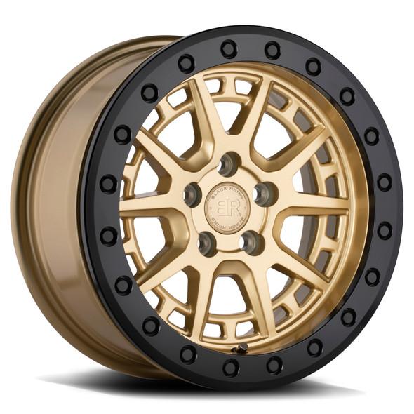 Black Rhino Gravel Gold W/ Black Ring & Bolts Wheels
