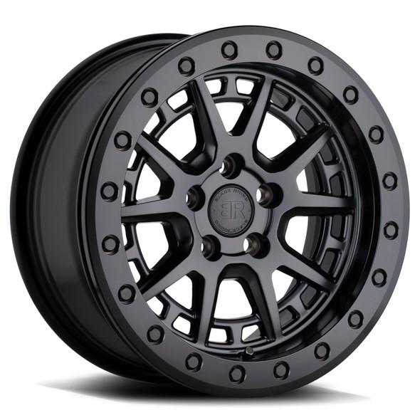 Black Rhino Gravel Matte Black Wheels