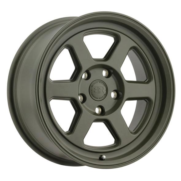 Black Rhino Rumble Olive Drab Green Wheels