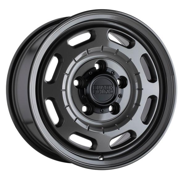 Black Rhino Bandolier Gloss Gunmetal Wheels