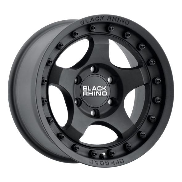 Black Rhino Bantam Textured Black Wheels