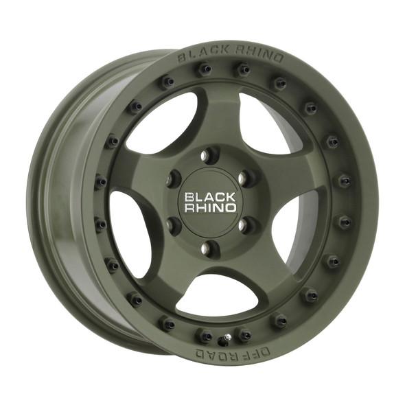 Black Rhino Bantam Olive Drab Green Wheels