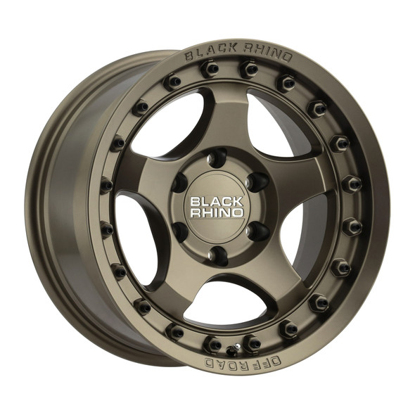 Black Rhino Bantam Matte Bronze Wheels